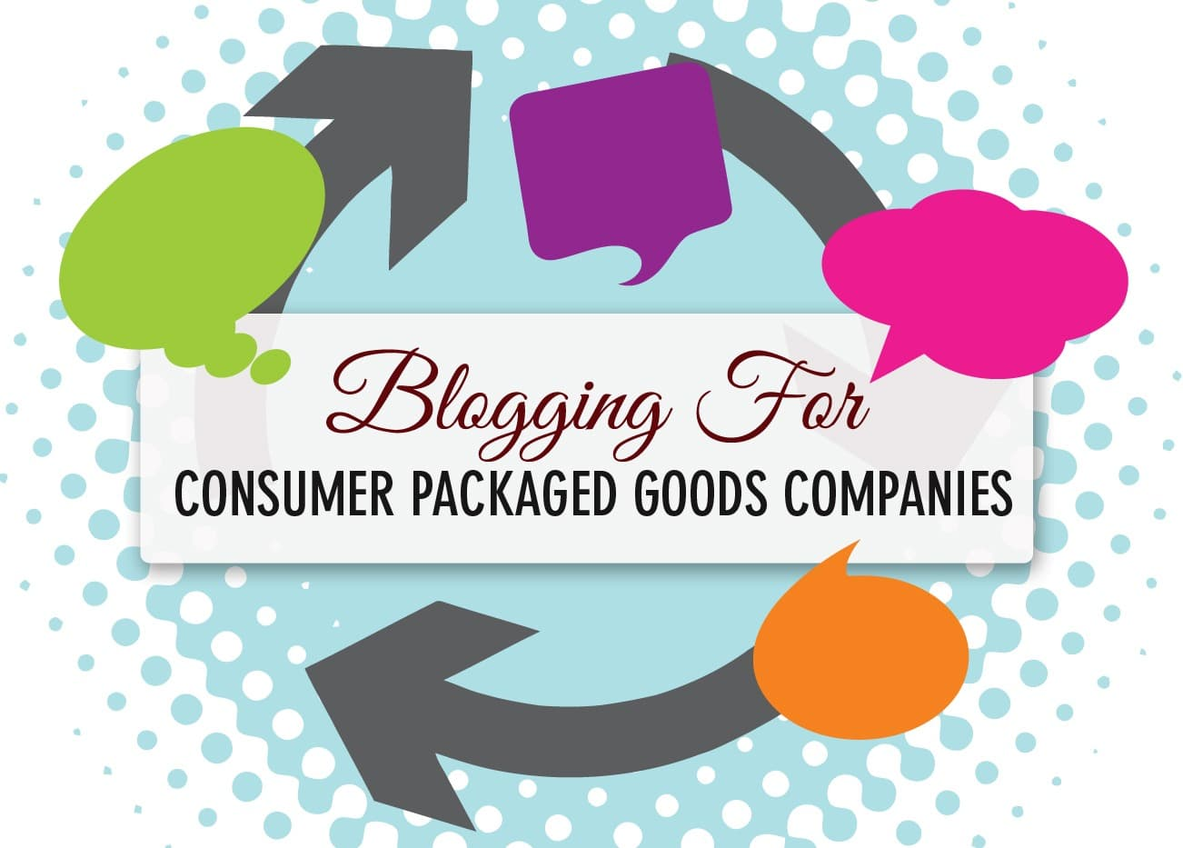 Blogging for Consumer Packaged Goods